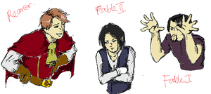 Fable Things - MSPaint by semper-maria