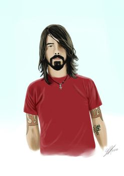 Dave Grohl by Shyphex