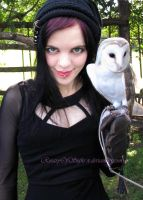Barn Owl 3 and Me by Rosary0fSighs