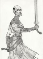 Asajj Ventress by DarthWapoe