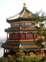Chinese architecture by kimmyjune