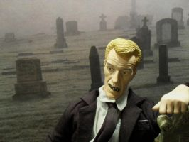 Cemetery Zombie Figure by manson26