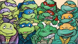 TMNT: MORE  Overload by theblindalley