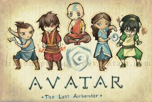 Chibi Avatar Tribute by DragonSpirit469