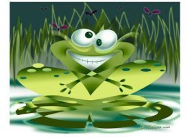 Abstract Frog by drejil