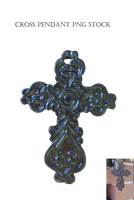 Cross Pendant Png Stock by KarahRobinson-Art
