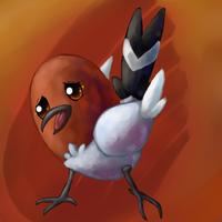 Fletchling by Chicorii