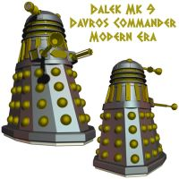Dalek: Modern Imperial Leader by Librarian-bot
