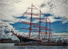 Sedov in St.Petersburg by Triumfa