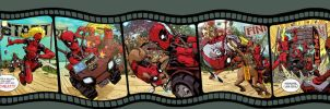 Deadpool Corps by Dave Johnson by whoisrico