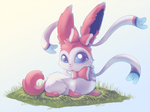 Baby Sylveon by Cosmic-Angell