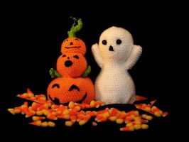 Bobby Boo and the Stack-o-Lantern by CraftedKansas