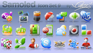 Samoled: icon set 9 by jquest68