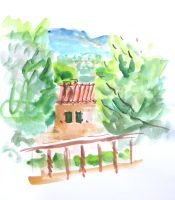 coloursketch Grimaud by StephanusEmbricanus