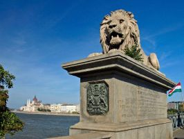 Watching Over Budapest by AgiVega