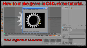 Requested Gear C4D Tutorial by Thamyris71