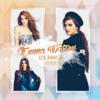 Pack png 306 - Emma Watson by worldofpngs