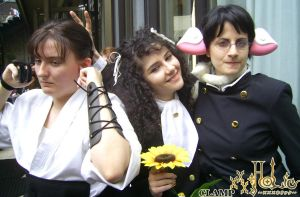 xxxHOLiC cosplay - The Trio by Shu-Maat