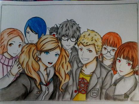 Persona 5 by LutviTheSquirrel