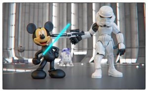 Disney Wars by sanfranguy
