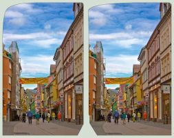 Pedestrian Zone - Cross Eye 3D by zour