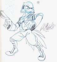 2ST - Falco Lombardi by SmithyGCN
