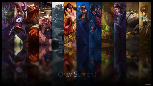 League Of Legends - Only Support by mukeni0