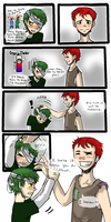 ~It Makes Him Feel Short~ (Krabs and Plankton) by NEOmi-triX