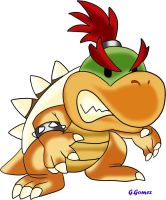 Baby Bowser by g-gomez