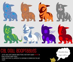 Cal Doll Point Adoptables CLOSED by MoonstalkerWerewolf