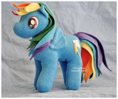Gift - MLP - Rainbow Dash by mihoyonagi
