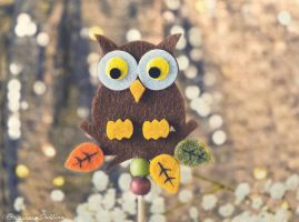 Autumn Owl by FrancescaDelfino