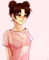 Tenten portrait by shianebulae