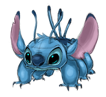 Stitch Doodle by Sontine