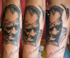 ataturk tattoo by tordah