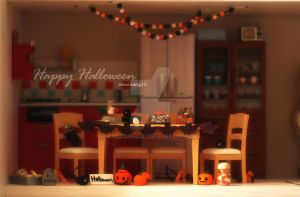 X-Halloween themed scene by ChocoAng3l