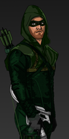 The Emerald Archer by IronAvenger1234