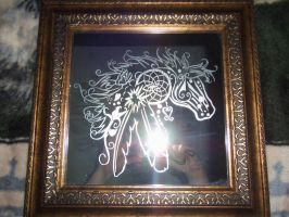 Horse Dreamcatcher by ReflectiveCreations