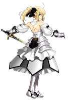 Saber Lily by MTRiZkit