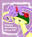 Happy Birthday Miss PK by SapphireMiuJewel