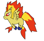 Rapidash's Fake-evolution by rongothepony