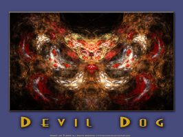 Devil Dog Wallpaper by guitarzar