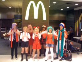 Vocaloid Xmas Girls by wuzhihao