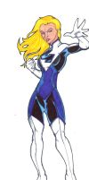 Fantastic Redesign: The Invisible Woman by FrischDVH