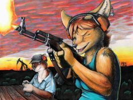 Range Time by KalahariFox
