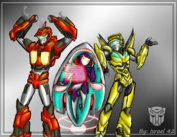 TFPrime: Afterbrun Minecraft and Vile FULL by Israel42