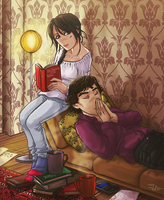 lazy winter afternoon COMMISH by thenizu