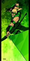 Green Arrow by lone-wolf-boudin