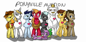 Ponyville Auction by mcwhale4