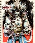 Sketch 28: Lobo by Cinar